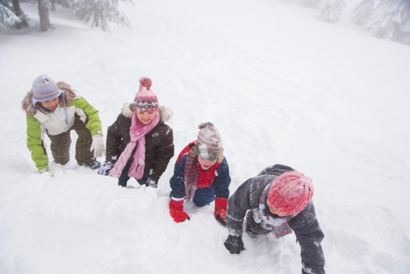 Zimowisko – piękne chwile w śnieżnej krainie.